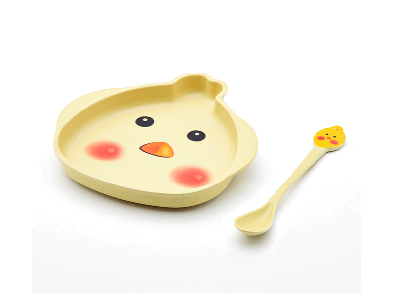 Shall bamboo fiber 2pcs chicken kid's set