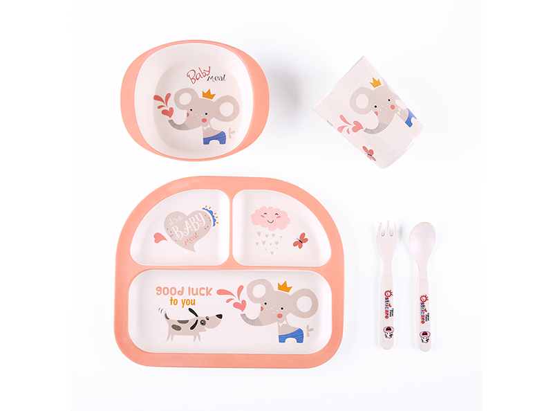Shall bamboo fiber 5pcs kid's set